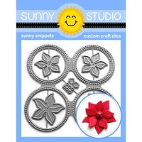 Sunny Studio Stamps - Craft Dies - Window Quad Circle