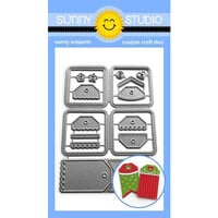 Sunny Studio Stamps - Sunny Snippets - Dies - Window Quad Square