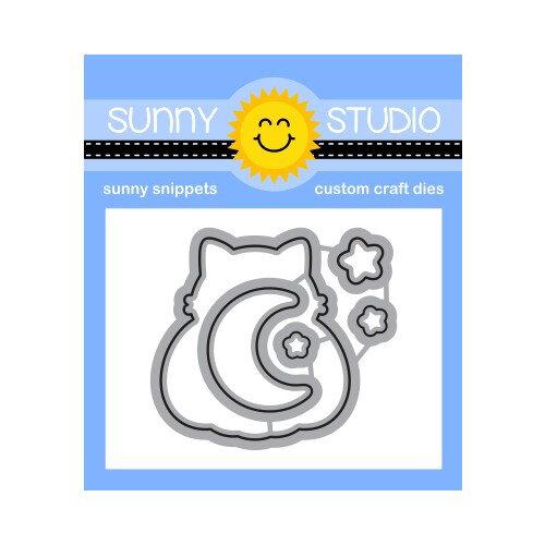 Sunny Studio Stamps - Craft Dies - Scaredy Cat