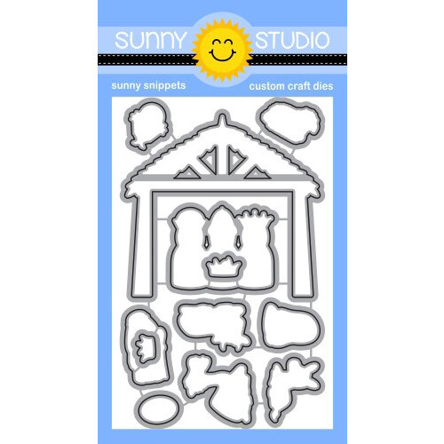 Sunny Studio Stamps - Christmas - Craft Dies - Holy Night