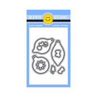Sunny Studio Stamps - Christmas - Craft Dies - Retro Ornaments