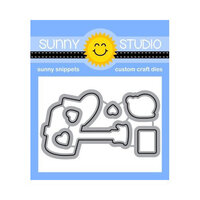 Sunny Studio Stamps - Craft Dies - Snail Mail