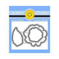 Sunny Studio Stamps - Craft Dies - Captivating Camellias