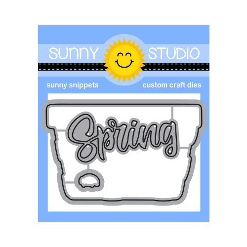 Sunny Studio Stamps - Craft Dies - Layered Basket