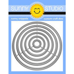 Sunny Studio Stamps - Craft Dies - Small Stitched Circle