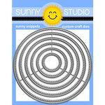Large Stitched Circle dies - Sunny Studio