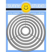 Sunny Studio Stamps - Craft Dies - Large Stitched Circle
