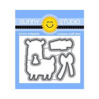 Sunny Studio Stamps - Craft Dies - Loveable Llama