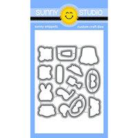 Sunny Studio Stamps - Craft Dies - Beach Buddies