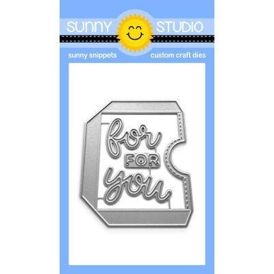 Sunny Studio Stamps - Craft Dies - Gift Card Pocket