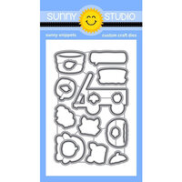 Sunny Studio Stamps - Craft Dies - Fall Friends
