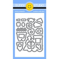 Sunny Studio Stamps - Christmas - Craft Dies - Holiday Express