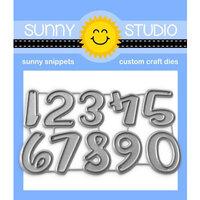 Sunny Studio Stamps - Craft Dies - Chloe Numbers
