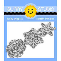 Sunny Studio Stamps - Craft Dies - Lacy Snowflakes