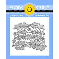 Sunny Studio Stamps - Craft Dies - Winter Greenery