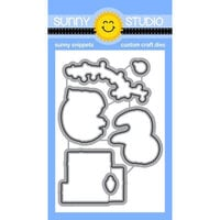 Sunny Studio Stamps - Craft Dies - Lazy Christmas
