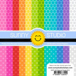 Sunny Studio Stamps - 6 x 6 Paper Pack - Polka-dot Parade