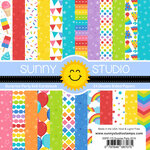Sunny Studio Stamps - 6 x 6 Paper Pack - Surprise Party
