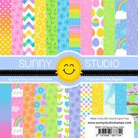 Sunny Studio Stamps - 6 x 6 Paper Pack - Spring Fling