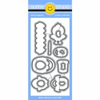 Sunny Studio Stamps - Sunny Snippets - Dies - A Good Egg