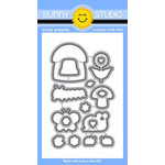 Sunny Studio Stamps - Sunny Snippets - Dies - Backyard Bugs
