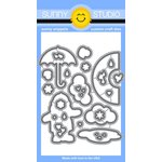 Sunny Studio Stamps - Sunny Snippets - Dies - Rain or Shine