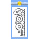 Sunny Studio Stamps - Sunny Snippets - Dies - Sunny Sentiments