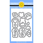 Sunny Studio Stamps - Sunny Snippets - Dies - Comfy Creatures