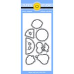 Sunny Studio Stamps - Sunny Snippets - Dies - Fresh and Fruity