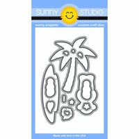 Sunny Studio Stamps - Sunny Snippets - Dies - Island Getaway