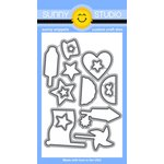 Sunny Studio Stamps - Sunny Snippets - Dies - Stars and Stripes