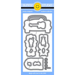 Sunny Studio Stamps - Sunny Snippets - Dies - Sock Hop