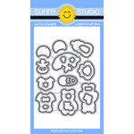 Sunny Studio Stamps - Sunny Snippets - Dies - Baby Bear