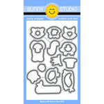 Sunny Studio Stamps - Sunny Snippets - Dies - Woodsy Creatures
