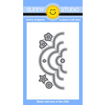 Sunny Studio Stamps - Sunny Snippets - Dies - Crescent Tag Toppers