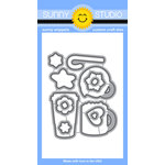 Sunny Studio Stamps - Sunny Snippets - Dies - Mug Hugs