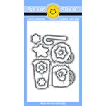 Sunny Studio Stamps - Christmas - Sunny Snippets - Dies - Mug Hugs