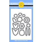 Sunny Studio Stamps - Sunny Snippets - Dies - Friends and Family Flower