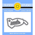 Sunny Studio Stamps - Sunny Snippets - Dies - That Sucks