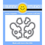Sunny Studio Stamps - Sunny Snippets - Dies - Turtley Awesome