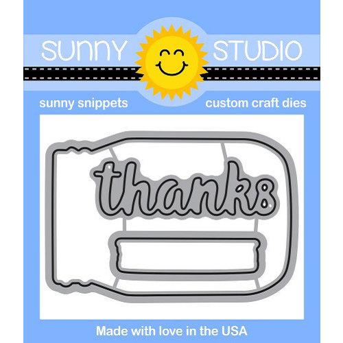 Sunny Studio Stamps - Sunny Snippets - Dies - Vintage Jars
