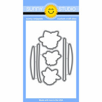 Sunny Studio Stamps - Sunny Snippets - Dies - Daffodil Dreams