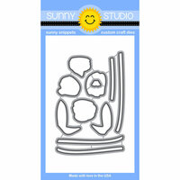 Sunny Studio Stamps - Sunny Snippets - Dies - Timeless Tulips