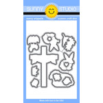 Sunny Studio Stamps - Sunny Snippets - Dies - Easter Wishes