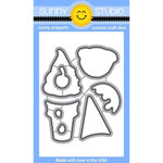 Sunny Studio Stamps - Sunny Snippets - Dies - Two Scoops