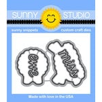 Sunny Studio Stamps - Sunny Snippets - Dies - Missing Ewe