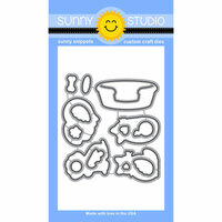 Sunny Studio Stamps - Sunny Snippets - Dies - Pet Sympathy