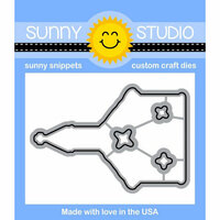 Sunny Studio Stamps - Christmas - Sunny Snippets - Dies - Christmas Chapel