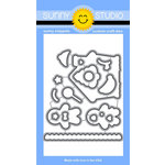 Sunny Studio Stamps - Christmas - Sunny Snippets - Dies - Jolly Gingerbread