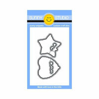 Sunny Studio Stamps - Sunny Snippets - Dies - Bold Balloons